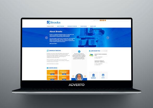Brooks Career Site By Adverto