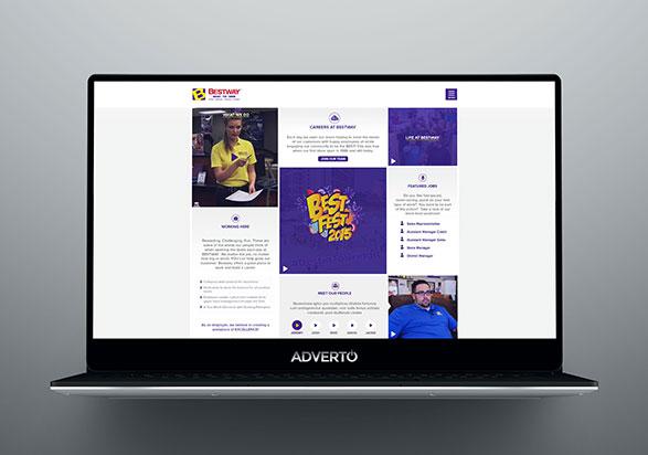 Bestway Career Site by Adverto
