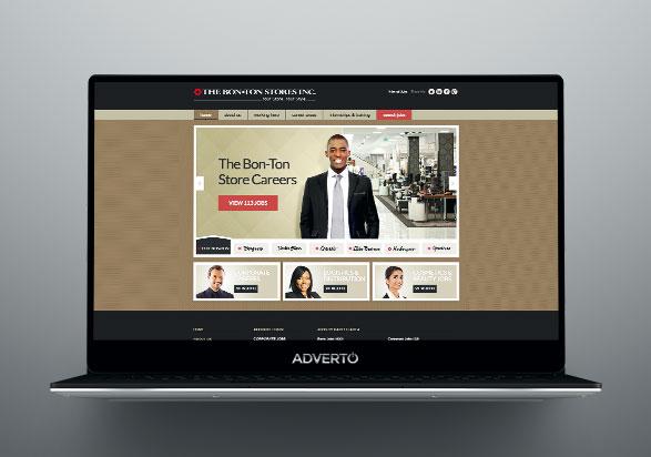 BonTon Career Site by Adverto