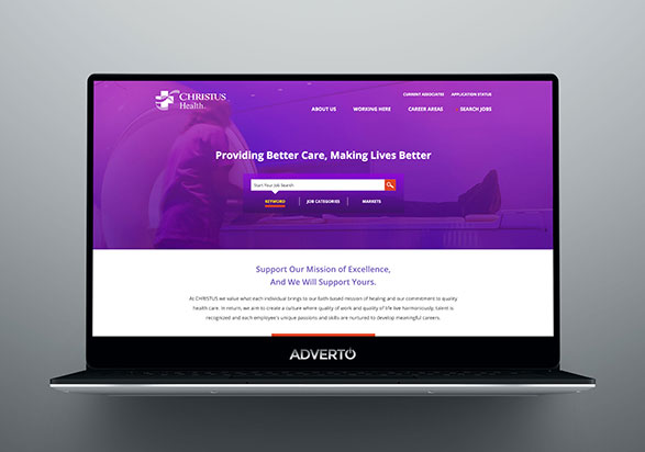 Christus Health Career Site by Adverto
