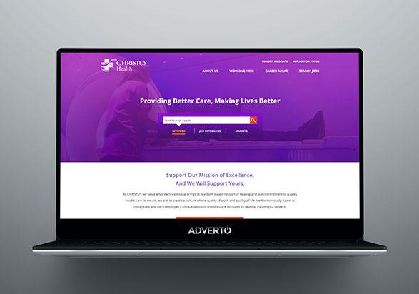 Christus Health Career Site by Adverto
