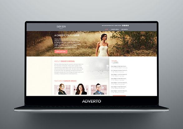 David's Bridal Career Site by Adverto