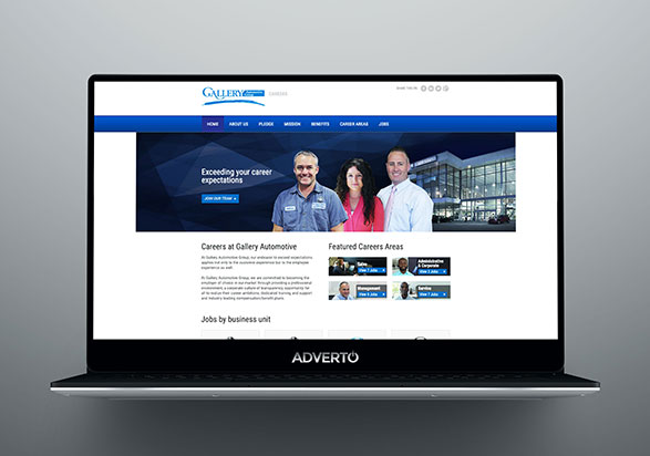 Gallery Group Career Site by Adverto