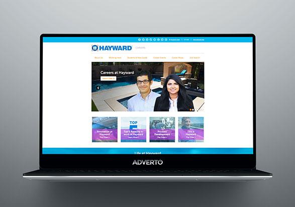 Hayward Career Site by Adverto