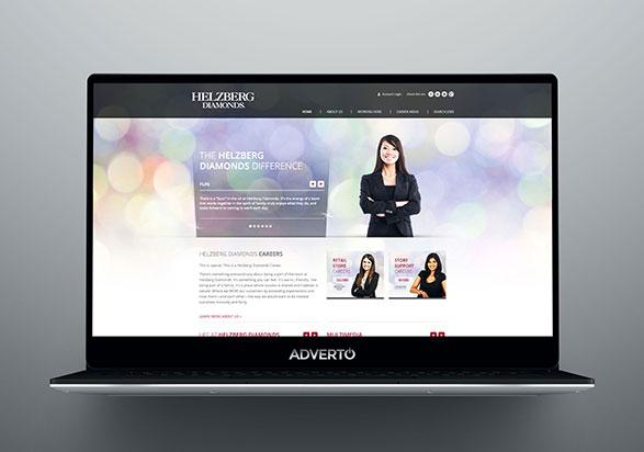Helzberg Career Site by Adverto