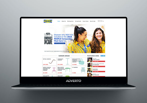 IKEA Career Site by Adverto