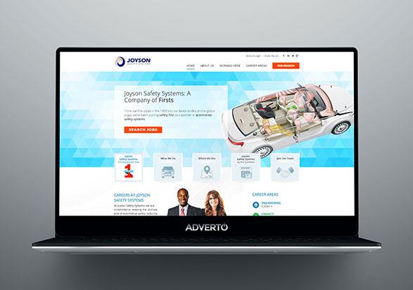 Joyson Career Site by Adverto