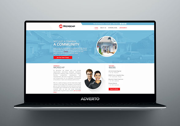Microchip Career Site by Adverto