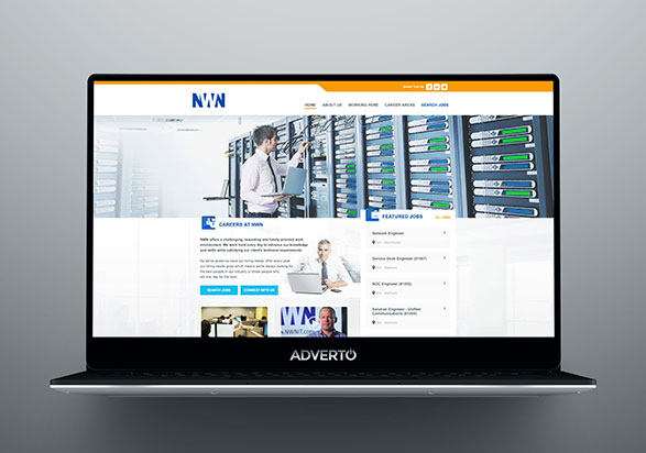 NWN Career Site by Adverto