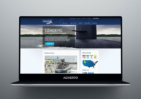 Naval Nuclear Laboratory Career Site by Adverto