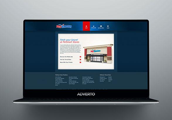 Petsmart Career Site by Adverto