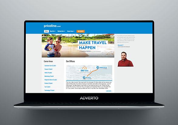 Priceline.com Career Site by Adverto