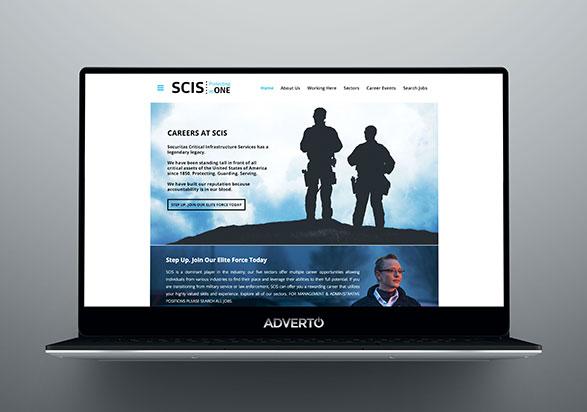 SCIS Career Site by Adverto
