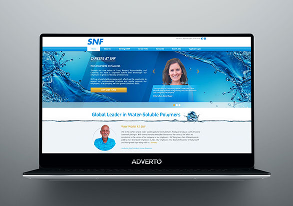 SNF Career Site by Adverto