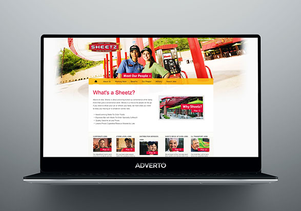 Sheetz Career Site by Adverto