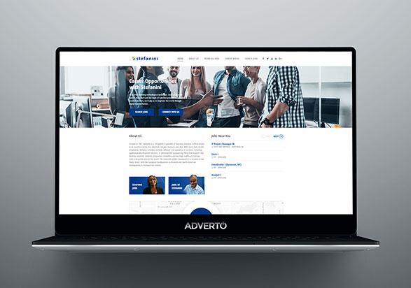 Stefanini Career Site by Adverto