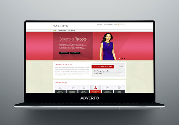 Talbots Career Site by Adverto