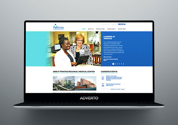 Trinitas Regional Medical Center Career Site by Adverto