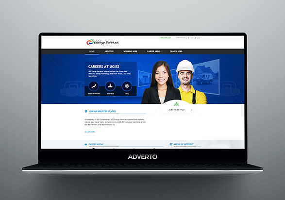 UGI Career Site by Adverto
