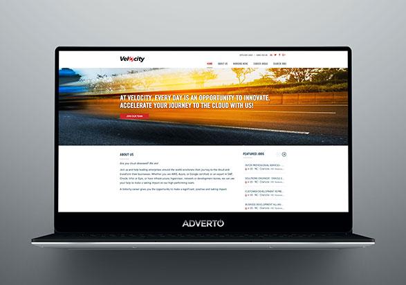Velocity Career Site by Adverto