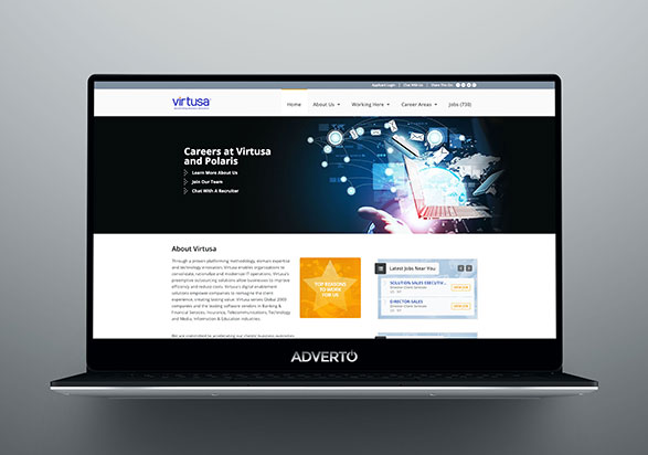 Virtusa Career Site by Adverto