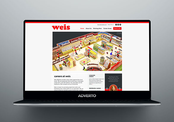 Weis Market Career Site by Adverto