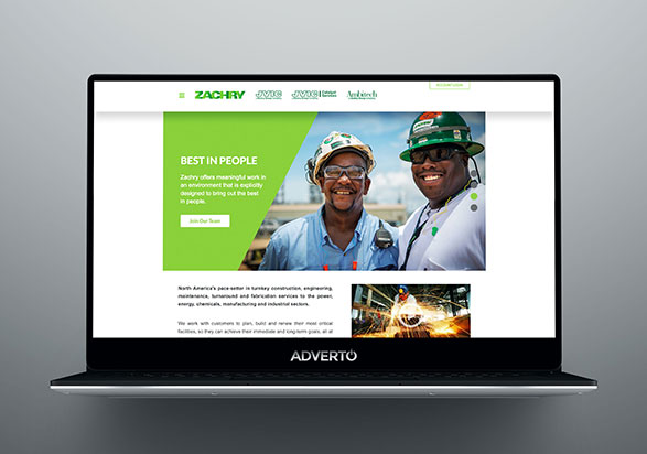 Zachry Group Career Site by Adverto